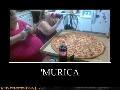 pizza fat jokes america food