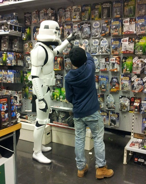 customer service,star wars,toys,stormtrooper