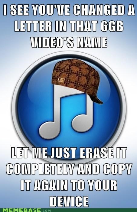 iTunes,files,scumbag hat,scumbag itunes