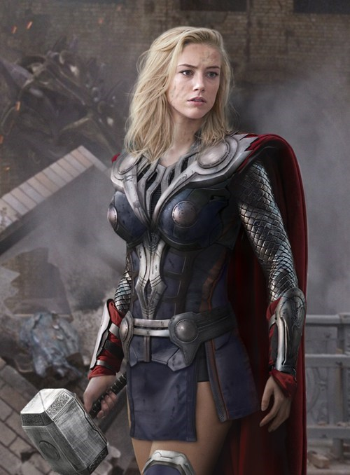 Thor gender swap Fan Art The Avengers mjolnir rule 63 - 6972688640