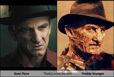 Sean Penn Totally Looks Like Freddy Krueger