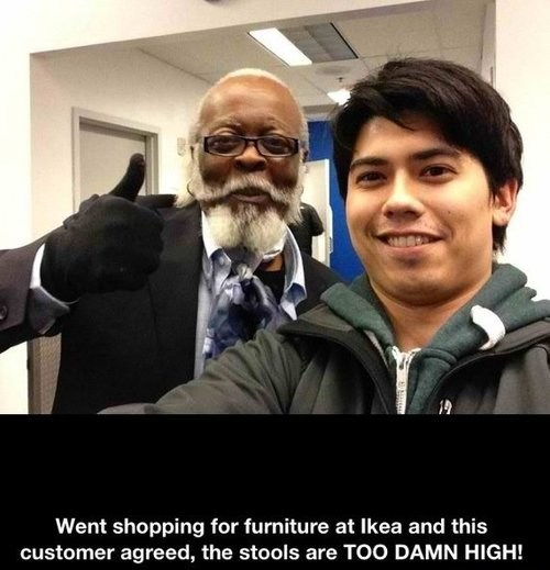 jimmy mcmillan,too damn high,ikea