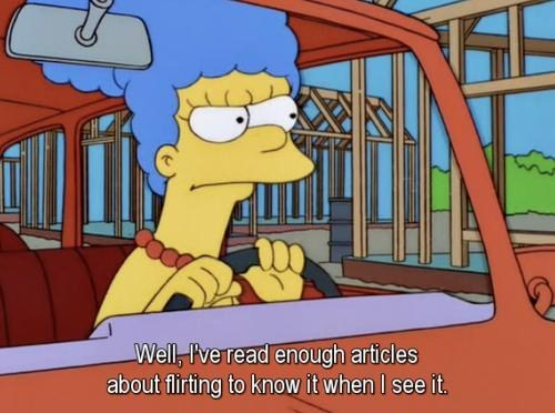 marge simpsons flirting the simpsons - 6972923136