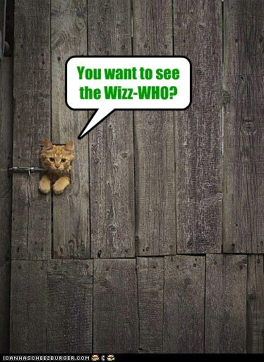 You want to see the Wizz-WHO?