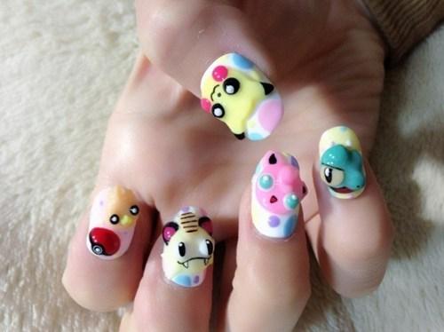 nails,art,IRL,Tokyo Otaku Mode