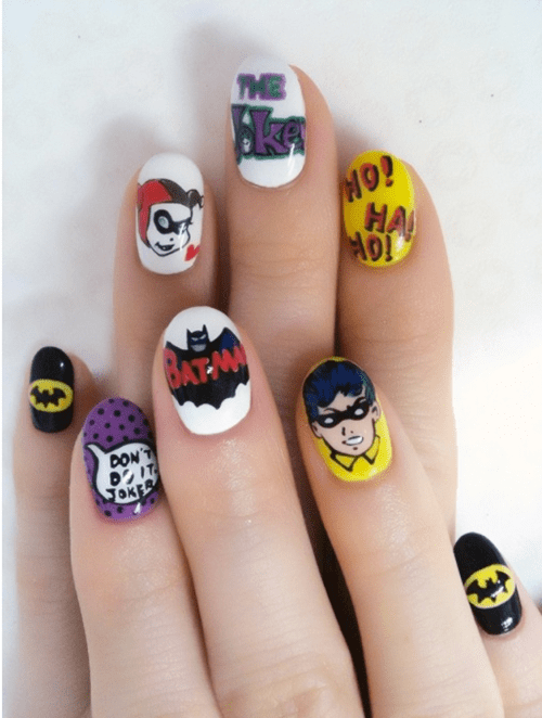 joker art batman fingernails - 6973020160