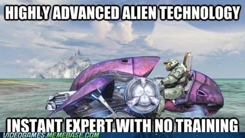 alien technology,halo,training,plug and play