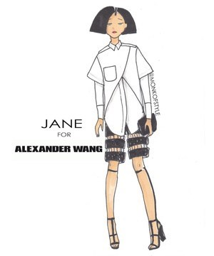 fashion alexander wang daria style cartoons if style could kill jane - 6973306880