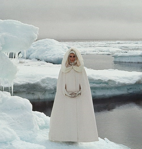 cape fashion white style ice if style could kill - 6973337088