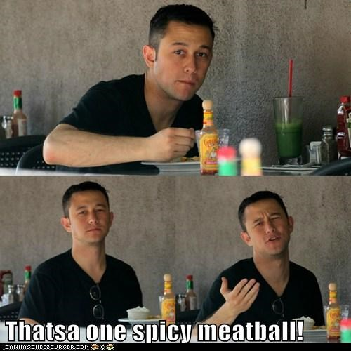 spicy,commercials,meatball,Joseph Gordon-Levitt