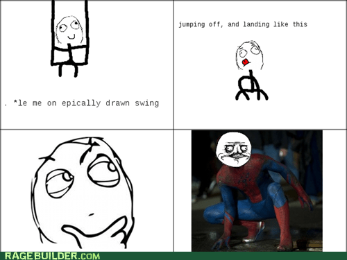 swingset swing Spider-Man