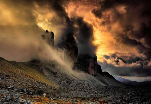 Italy mysterious creepy landscape mountains - 6973582080