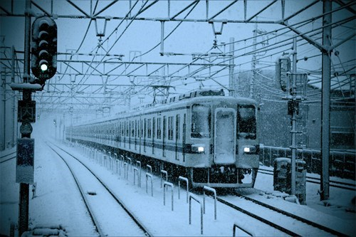 snow Japan winter trains - 6973582848