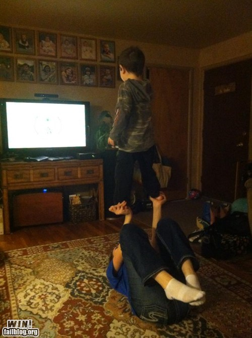 teamwork,kinect,video games