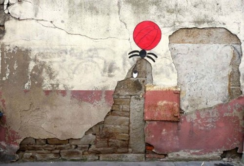 Street Art seal graffiti hacked irl - 6973646848