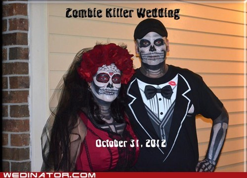 makeup zombie halloween dia de los muertos sugar skulls - 6973907712