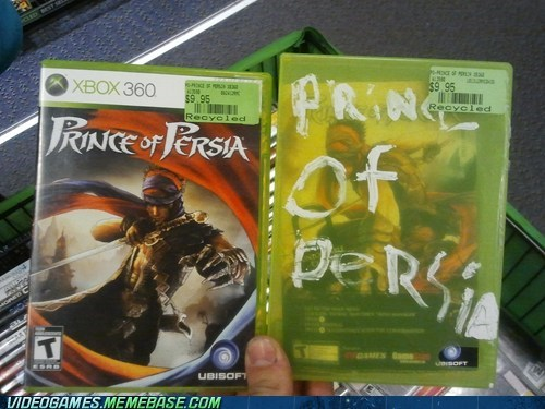game cover,prince of persia,seems legit