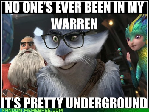 rise of the guardians,hipster bunny,movies