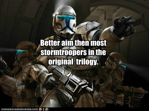 trilogy,star wars,aim,the clone wars,stormtrooper