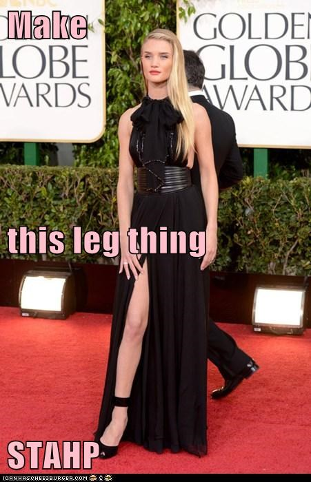 golden globes,stahp,meme,Rosie Huntington-Whiteley,leg