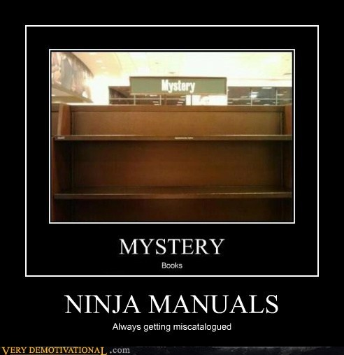 ninja,manual,invisible,book