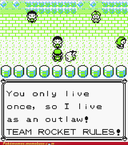 yolo Team Rocket gameplay dont-mess-with-me