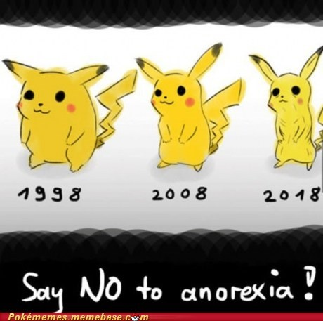 Sad design help pikachu anorexia - 6974633728