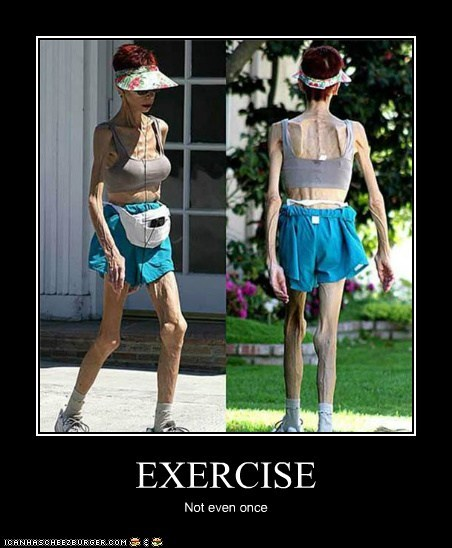 EXERCISE Not even once