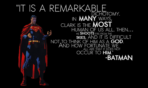 gods,thankful,quote,superman