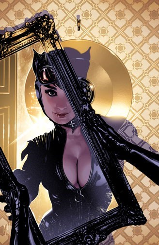 art mirror awesome catwoman - 6974897664