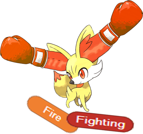 fennekin starters typing firefighting - 6975015680