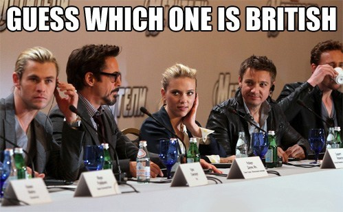 The Avengers,tea,celeb