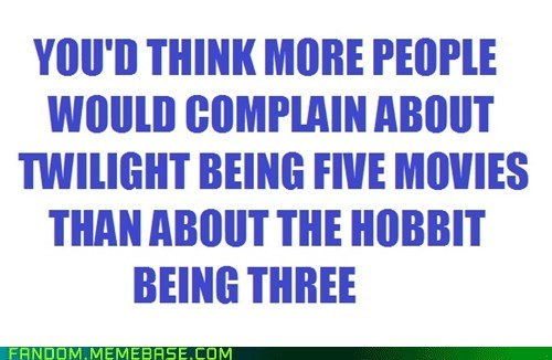 movies,The Hobbit,twilight