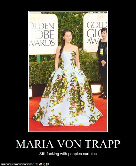 MARIA VON TRAPP Still fucking with peoples curtains