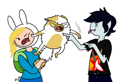 marshal lee Fionna and Cake adventure time - 6975216128