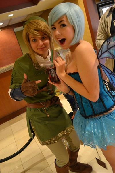 link cosplay legend of zelda navi video games - 6975283712