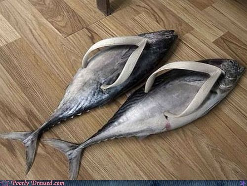 flip flops sandals fish - 6975348480
