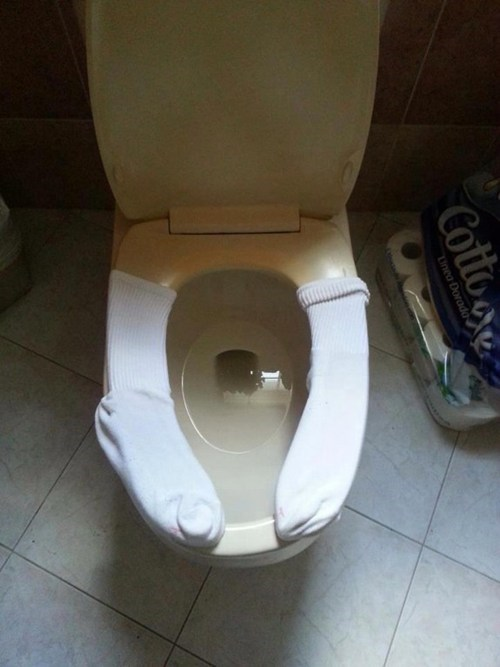 clever,fixed it,toilet,DIY