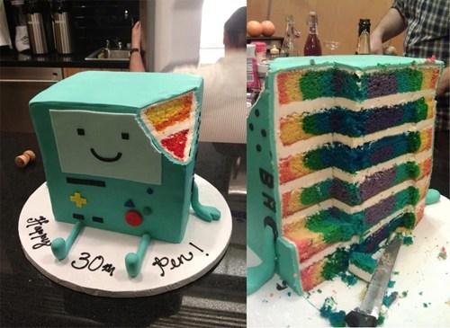 cake beemo food adventure time - 6975376384