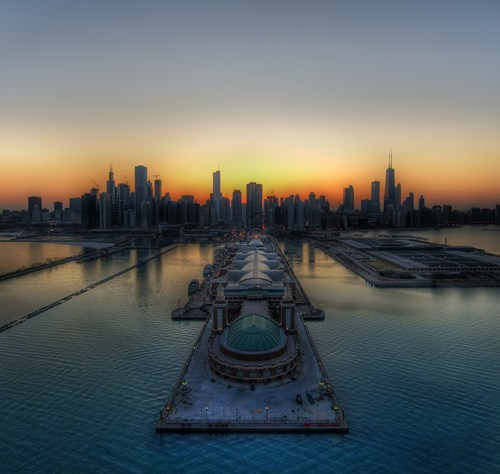 cityscape,skyline,pretty colors,chicago