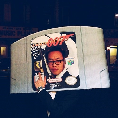 costume,goldeneye,nerdgasm,video games