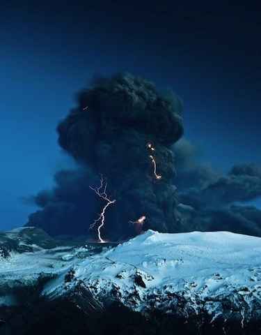 storm,Damn Nature U Scary,krakoom,volcano,lightning,duck and cover