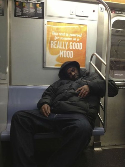 nap enthusiasm irony public transit - 6975863552