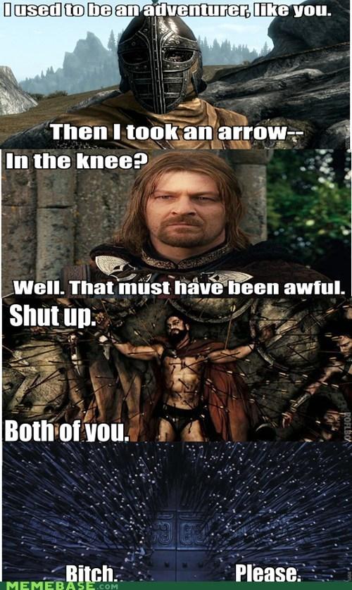 movies arrow to the knee video games Skyrim - 6976366080