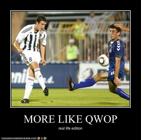 MORE LIKE QWOP real life edition