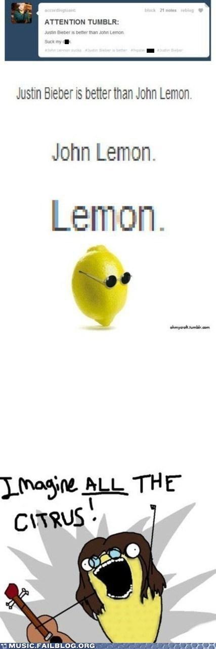 john lennon lemons justin bieber - 6976383488