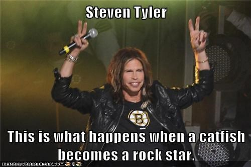 catfish,rock star,steven tyler,mouth