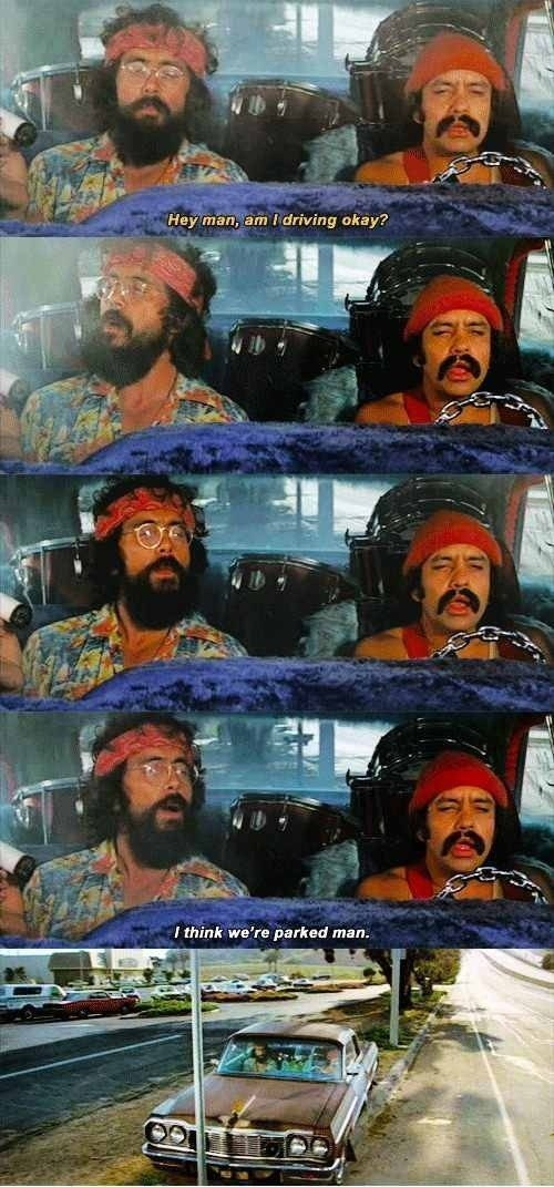 drugs marijuana driving Cheech and Chong - 6977275392
