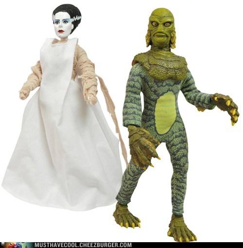 action figures retro monster - 6977294336