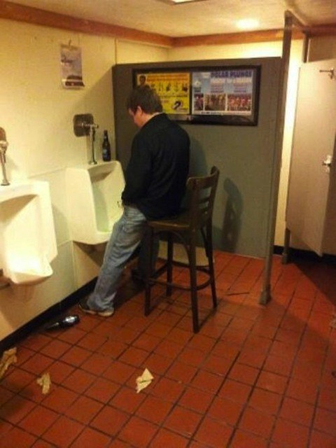 wtf stool urinal bathroom